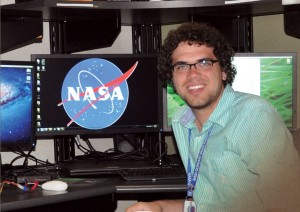 Nick Spear, a math and computer science major, landed a summer internship working with NASA's Computer Crimes Division.