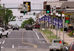 Improvements on Franklin Street, between Normal and Jefferson streets, were recently completed and include a newly paved road and bike lanes.