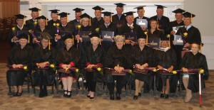Last October during Homecoming 2012, several alumni put on a graduation cap and gown and received a commemorative diploma presented by President Troy Paino as part of the annual Golden Alumni Diploma Ceremony.