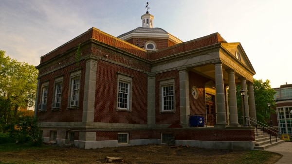 Construction Around Campus Renovations around campus include improvements to Franklin Street, Kirk Memorial and a major upgrade to Centennial Hall.