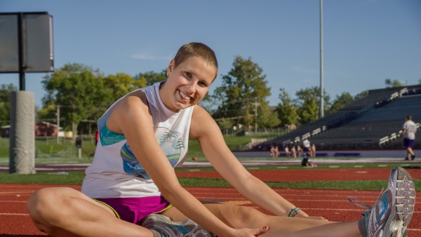 Runner Returns After Battle with Cancer Miranda Biddle was diagnosed Burkitt's Lymphoma in early 2013. She returned to the classroom and the track in August after completing her treatments.