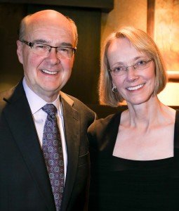 Ronald Thomas ('65) and his wife, Ann