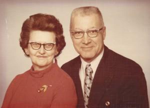 Essie (Kelley) and Harry Gardner